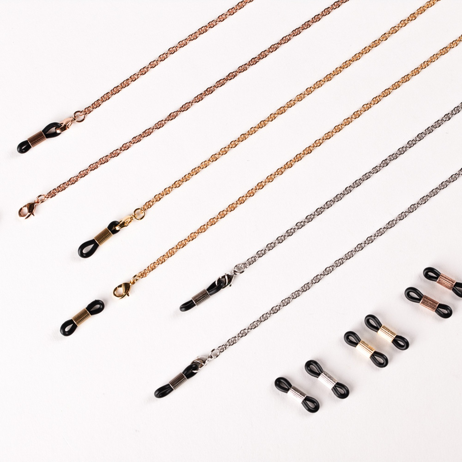 Twits chain _ 3color (Gold / Silver / Rosegold)