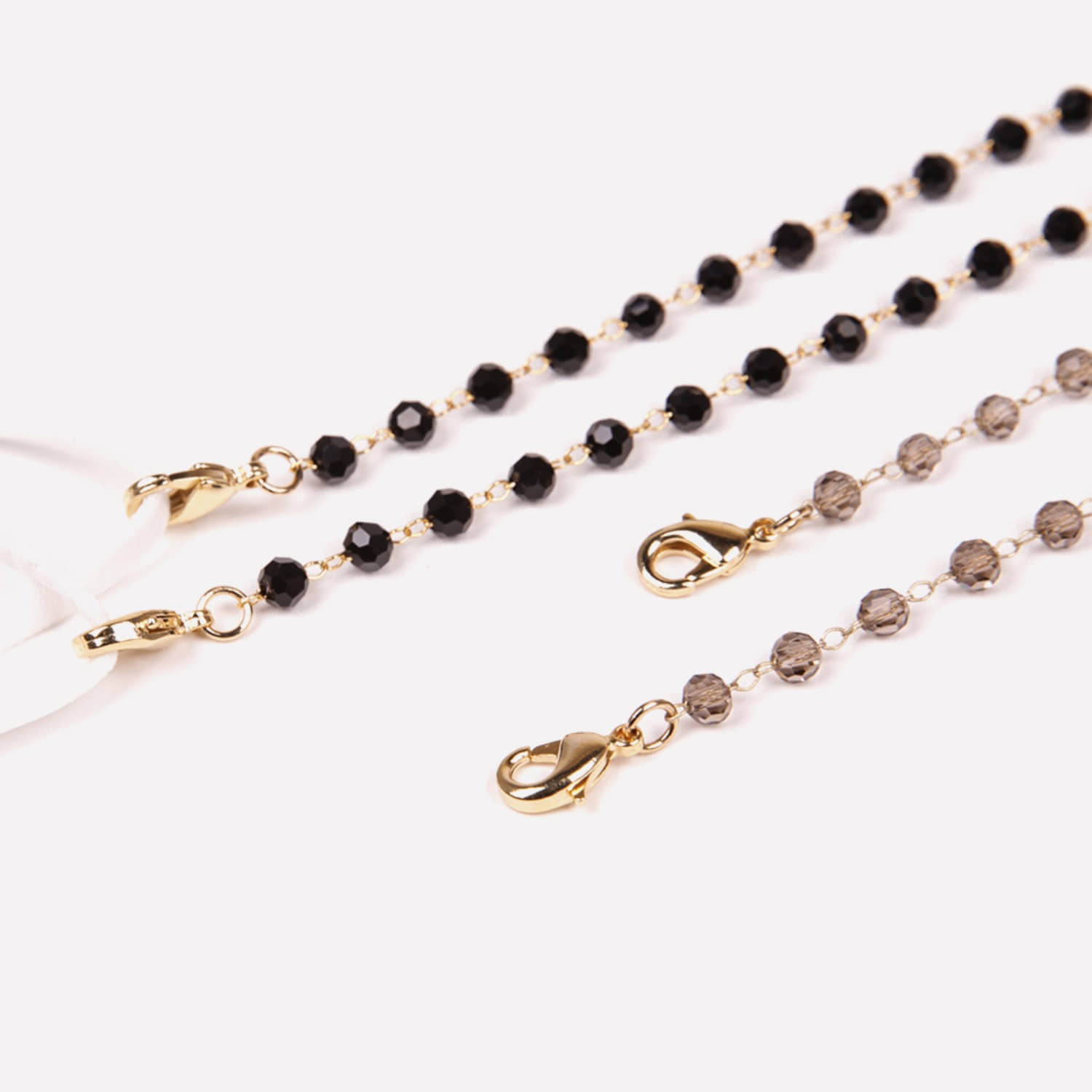 M.Crystal Chain _ 2 color (Grey, Black)